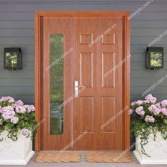 cửa 2 cánh kính